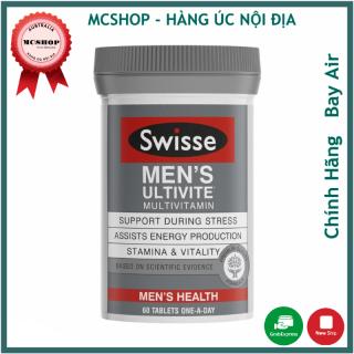 Hỗ trợ sức khỏe toàn diện cho Nam giới Swisse Men s Ultivite Multivitamin (DATE 12 2022) thumbnail