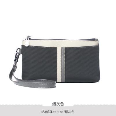 2019 New Style Womens Handbag Clutch Large Canvas Bag Natural Oxford Cloth Womens Bag Zipper Fashion Korean Style Fashion Leisure
