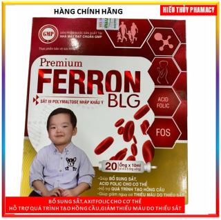 SiRo Premium Ferron Blg bổ sung sắt và acid folic, giảm thiếu máu do thiếu sắt, hỗ trợ quá trình tạo máu ,Giảm nguy cơ thiếu máu do thiếu Sắt thumbnail