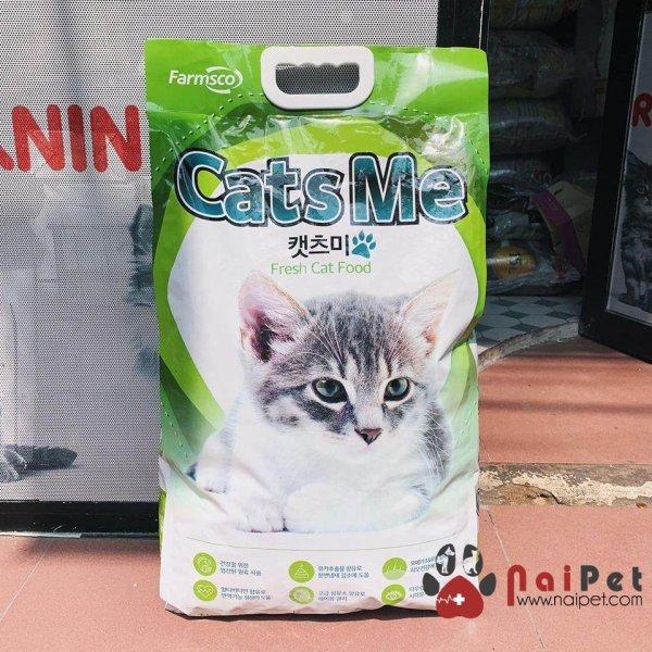 Thức Ăn Hỗn Hợp Cho Mèo Con Và Mèo Lớn Cats Me Gói 5kg