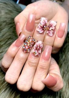 Hoa nổi 4D ,Fantasy HN008 set 3 hoa theo hình . Sản phẩm trang trí móng , vẽ nổi, Nail desige , hoa vẽ nổi, Hoa dễ bẻ from móng(hàng vẽ tay không đổ khuôn ) thumbnail