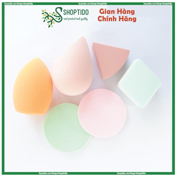 Mút tán kem trang điểm nhiều loại, mềm mịn - màu giao ngẫu nhiên giá rẻ