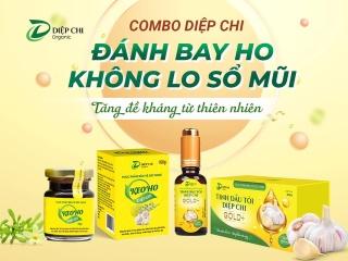 Combo Tinh Dầu Tỏi Diệp Chi GOLD+ & Keo Ho Diệp Chi thumbnail