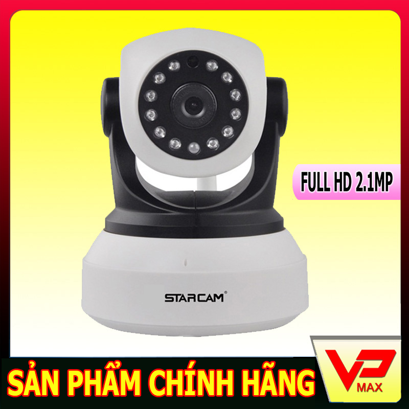 Camera Wifi IP StarCam Chuẩn 2.1Mp full HD 1080p