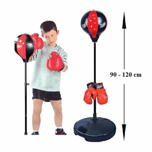 Bộ đồ chơi đấm bốc BOXING cho bé (Đỏ)