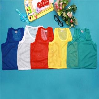 Set 5 áo lưới 3 lỗ thông thoáng cho bé đủ size từ 4 đến 14 ký thumbnail