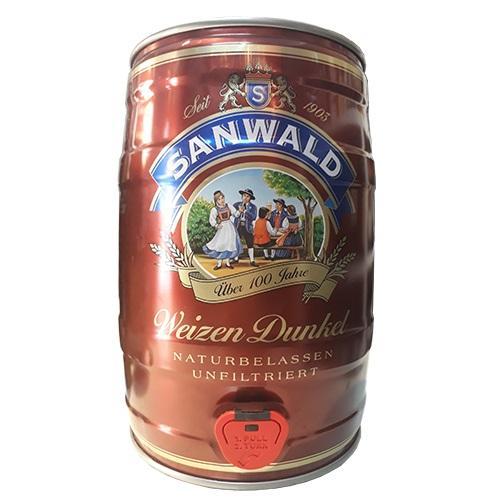 Bia Sanwald Weizen Dunkel 5% - Bom 5L Nhật Bản