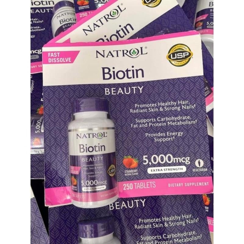 Biotin 5000 Mcg Fast Dissolve 250v giá rẻ