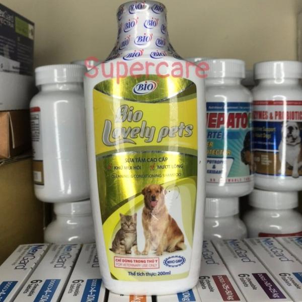 Sữa Tắm Bio Lovely Pet 200ml - Làm Sạch & Bóng Lông Chó Mèo