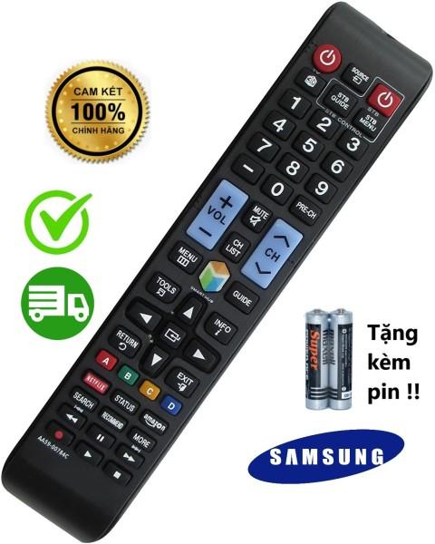 Bảng giá (Hàng cao cấp ) Điều khiển remote samsung smart  LCD/ LED dáng dài đen .
