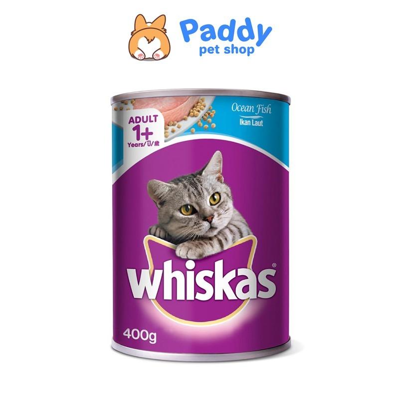 [400g] Pate Whiskas mèo vị cá biển lon