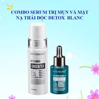 Serum Tri Mụn Và Mặt Nạ Detox BlanC 8