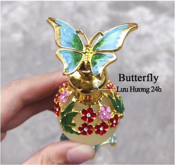 Tinh Dầu Nước Hoa Cao Cấp 20ml Mùi Sang Trọng Siêu Lưu Hương Butterfly, Pink, ROSE OF NO MANS LAND