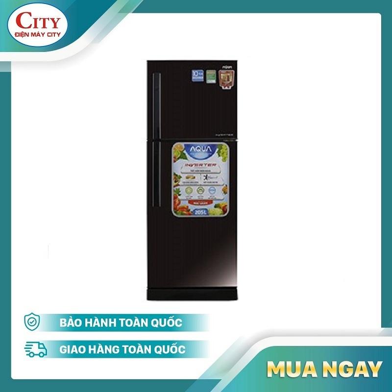 Tủ lạnh Aqua Inverter 186 lít AQR-I209DN DC - Bảo Hành 2 năm
