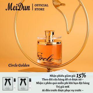 Meidun Nước hoa nữ Circle 60ml EDP hương thơm lâu dài nước hoa bắt mắt xịt toàn thân thumbnail