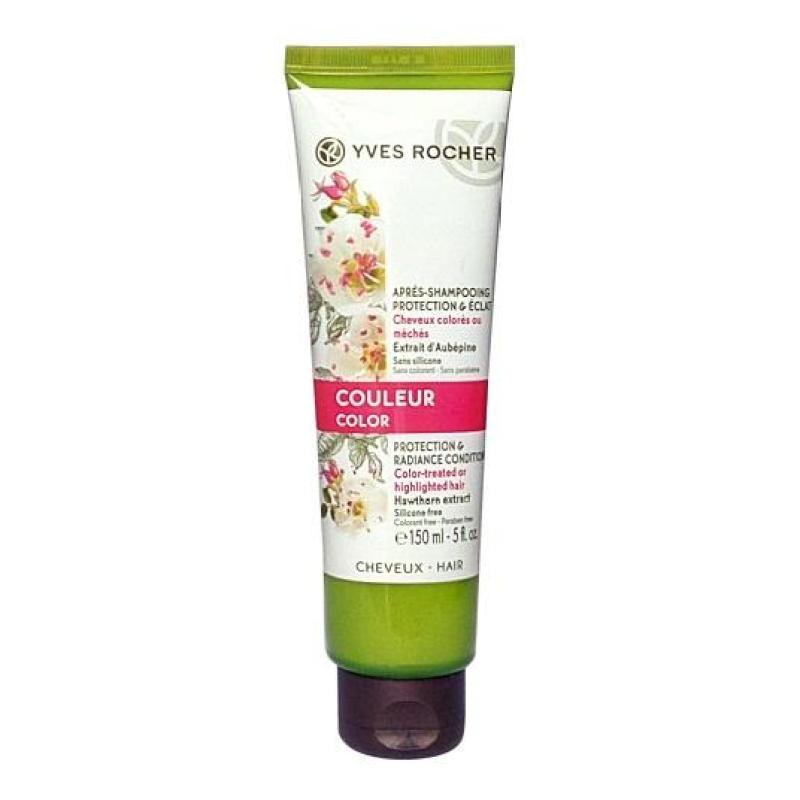 Dầu Xả Dành Cho Tóc Nhuộm Yves Rocher Color Protection & Radiance Conditioner 150ml