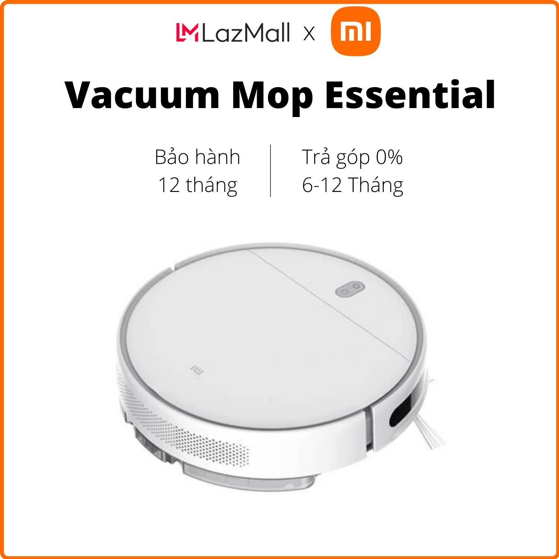 Robot hút bụi Xiaomi Vacuum Mop Essential (Trắng) - Hàng chính hãng DGW - Trả góp 0%