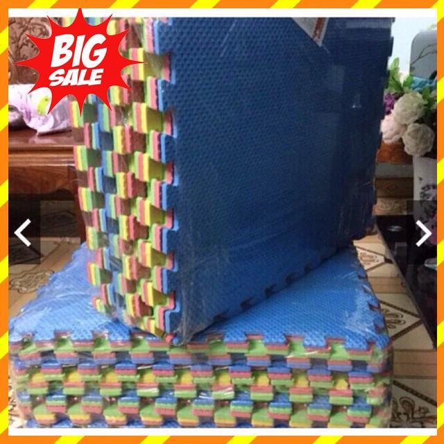 (GIÁ SỐC) Thảm Xốp Ghép Lót Sàn Kích Cỡ 60x60cm ( bịch 6 tấm đủ màu )