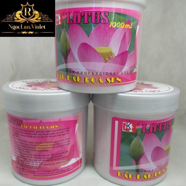 Hấp dầu hoa sen Lotus