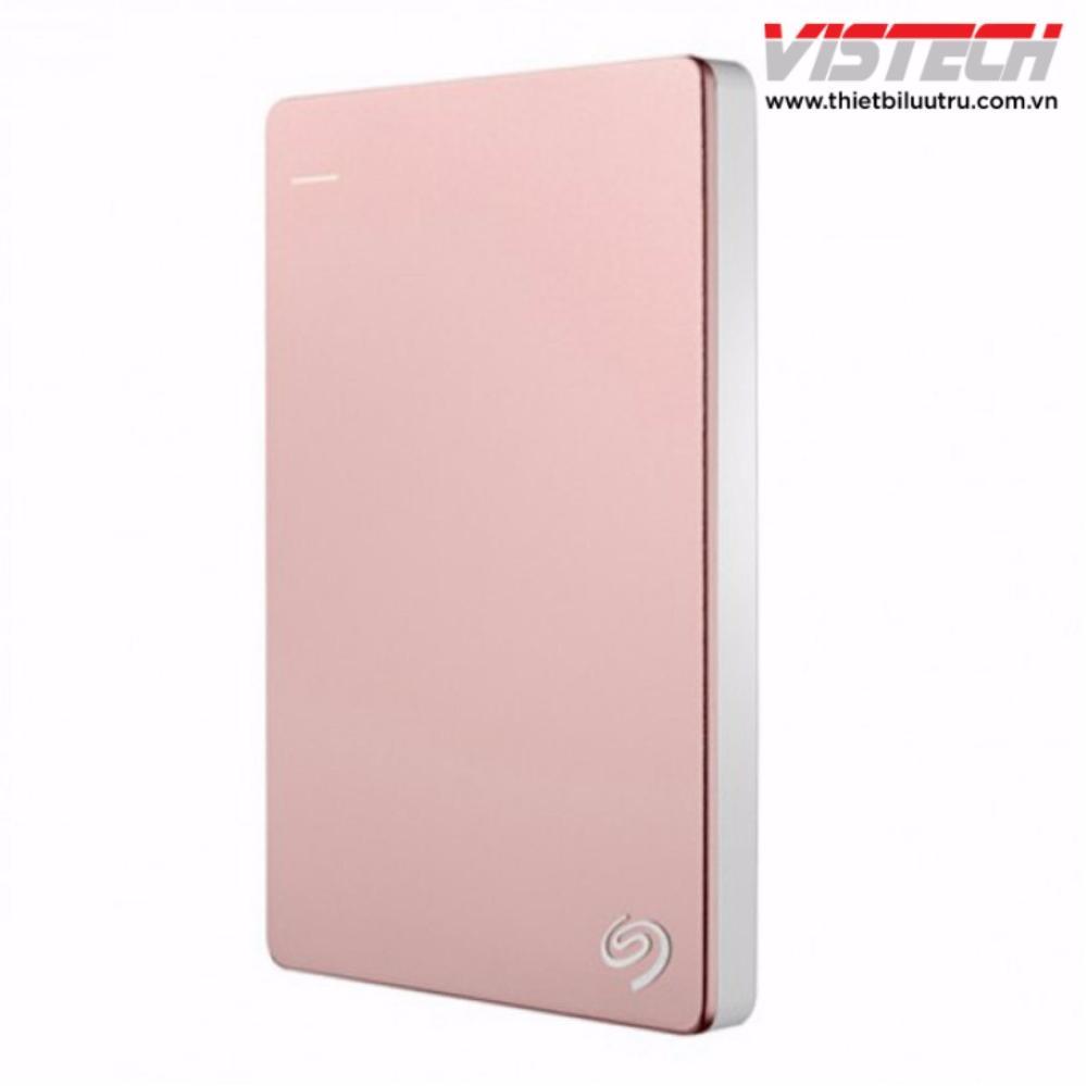 Ổ cứng di động Seagate Backup Plus Slim 2.5 inch 2TB (Hồng) Nhật Bản