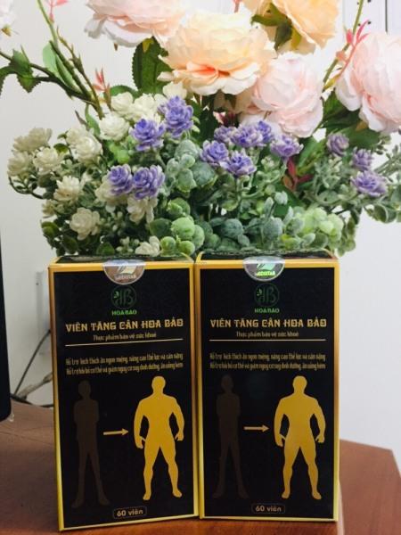 Combo 2 hộp tăng cân Hoa Bảo chính hãng công ty