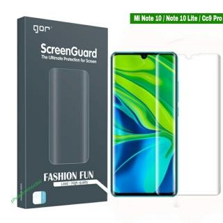 Bộ hai miếng dán màn hình Mi Note 10 10 Pro Note 10 Lite CC9 Pro dùng chung hiệu Gor Full màn 3D cao cấp thumbnail