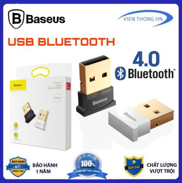 Bảng giá USB Bluetooth 4.0 CSR BASEUS hỗ trợ Aptx dùng cho máy tính để bàn hoặc laptop KHÔNG CẦN CHẠY DIRVER Phong Vũ