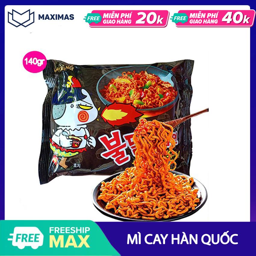 Mì Cay Samyang NongShim Hàn Quốc 1 gói - Mỳ cay Maximas - Ăn vặt Hàn Quốc