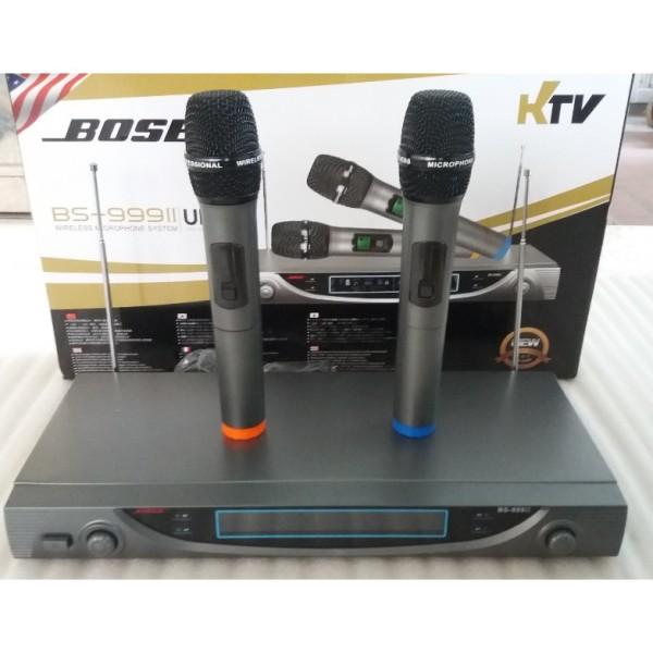 Micro Karaoke Không Dây Bs 999 Ii
