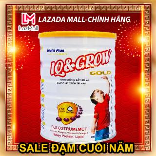 Sữa bột IQ-GROW cho trẻ tăng chiều cao, thông minh vượt trội NUTRI PLUS GOLD- 900G -Không dành cho trẻ dưới 2 tuổi thumbnail