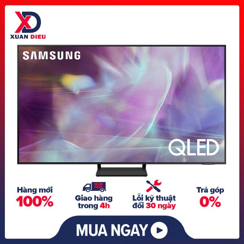 [HCM]Tivi QLED Samsung QA50Q60AA 4K 50 inch - Điều khiển tivi bằng ứng dụng SmartThings. Trình chiếu màn hình thiết bị lên tivi qua tính năng AirPlay 2 và Screen Mirroring. Hỗ trợ các cổng kết nối đa dạng : Bluetooth chính hãng