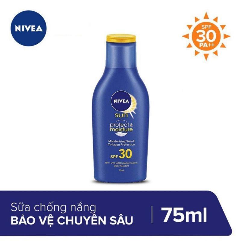 Sữa Chống Nắng Bảo Vệ Chuyên Sâu Nivea SPF30 75ml nhập khẩu