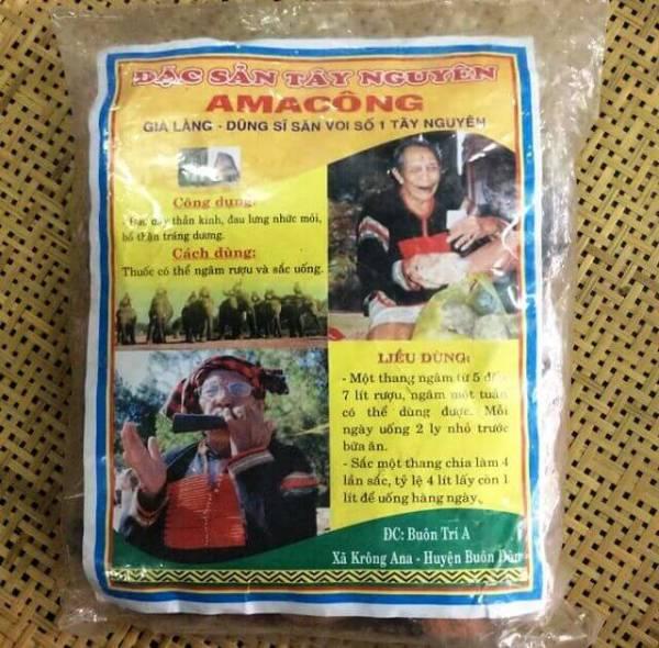 [ĐẶC BIỆT NHẤT 15 VỊ] AMAKONG đặc biệt 15 vị - bổ thận tráng dương, gói Amakong 1.5kg, thang Amakong, đồ ngâm, thảo dược - Đặc Sản Hương Rừng