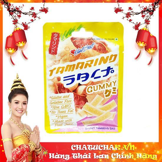 Kẹo Gummy vị me chua ngọt - Harbeat Gummy Salt Tamarind Flavor thái lan