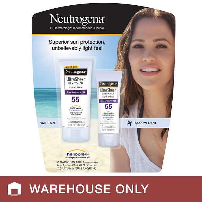 Kem chống nắng Neutrogena Ultra Sheer Dry Touch Sunscreen nhập khẩu