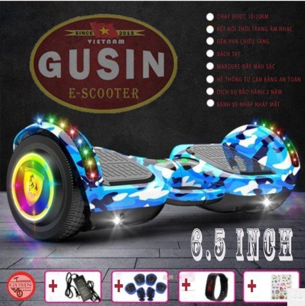 Giá bán GuSin 6.5inch màu / xe tự cân bằng khi mới Open / có Video test xe / Cam kết bảo hành 2 năm