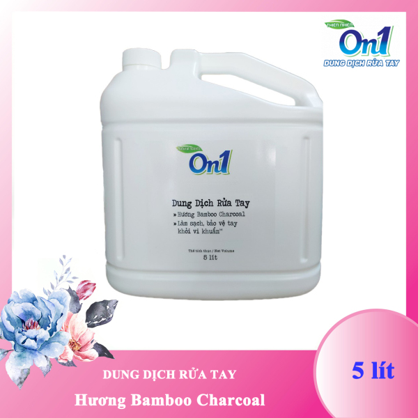 [HCM]Dung dịch rửa tay khô hương Bamboo Charcoal On1 - 5 lít