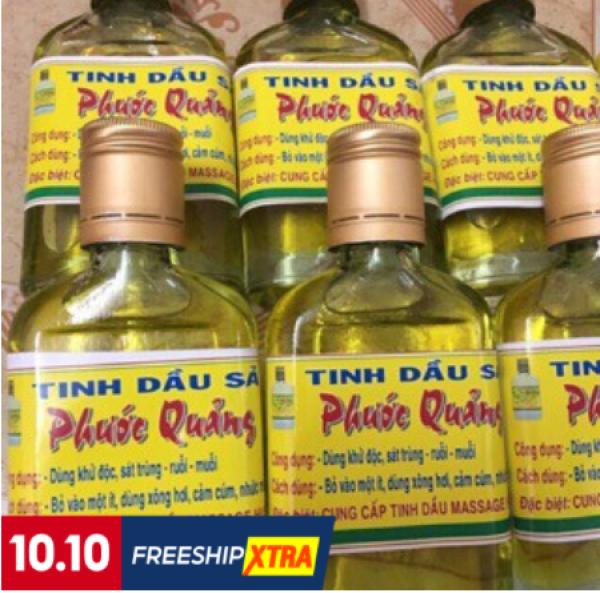 Tinh dầu sả Phước Quảng nguyên chất 100ml đuổi muỗi côn trùng giá rẻ