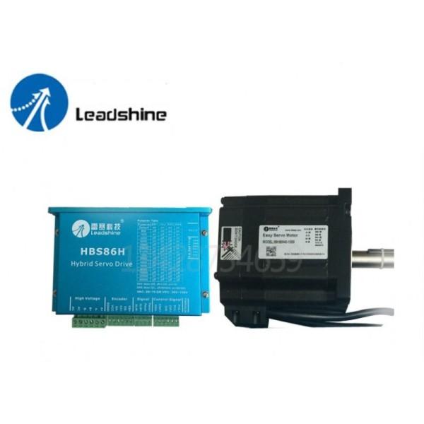 [Trả góp 0%]Bộ sản phẩm: Động cơ Hybrid Servo Leadshine 4.5Nm 86CME45-1000 và Driver HBS86H ( gồm cả cáp )