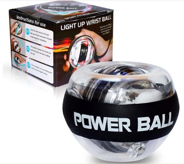 Bảng giá Power Ball - Bóng Tập Luyện Cổ Tay Cơ Tay Có Đèn Led Phát Sáng
