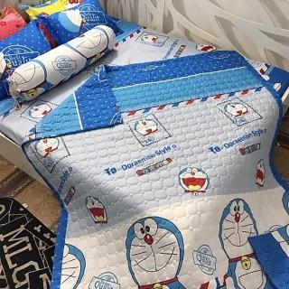 [GIÁ KHUYẾN MÃI] Bộ drap 4 món (1 ga +1 vỏ gối ôm+2 vỏ gối nằm 160 200cm - bộ ga 4 món - bộ ga trải giường cotton thumbnail