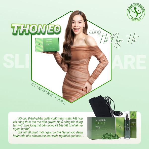 Bộ đai ủ nóng Slimming Body 2 SB2 ủ nóng tan mỡ giảm mỡ cao cấp