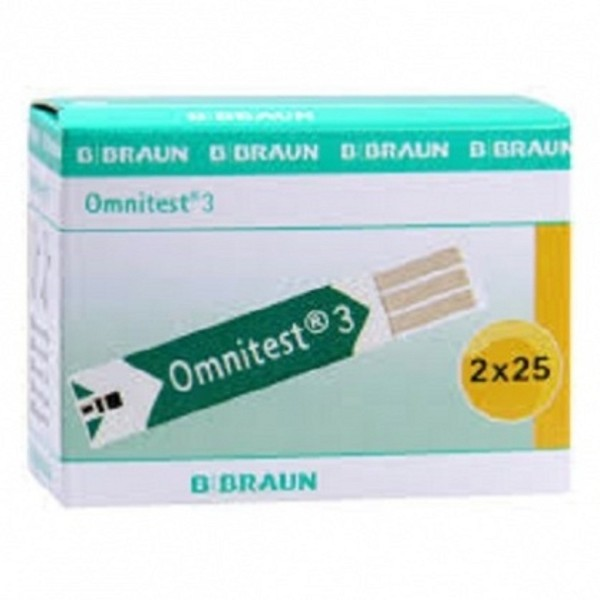 Que thử đường huyết B-Braun Omnitest 3 - que 50, cam kết hàng đúng mô tả, sản xuất theo công nghệ hiện đại, an toàn cho người sử dụng bán chạy