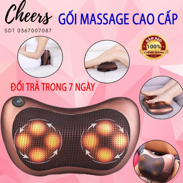 [FREESHIP - GIÁ SỈ] Gối Massage Đa Năng,  Máy Massage Hồng Ngoại 8 Bi Thế Hệ Mới. Mát Xa Các Cơ Huyệt, Xoa Bóp Chống Nhức Mỏi, Nhanh Chóng Giảm Căng Thẳng , Stress .Giá Cực Sốc - Bảo Hành Toàn Quốc Trong Thời Gian 12 Tháng.