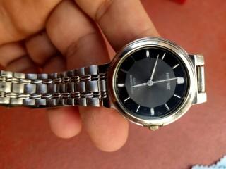Đồng hồ Freeway - citizen Nhật bản, size 31mm (nữ) , mặt đen hình thức đẹp, dây khóa zin thumbnail