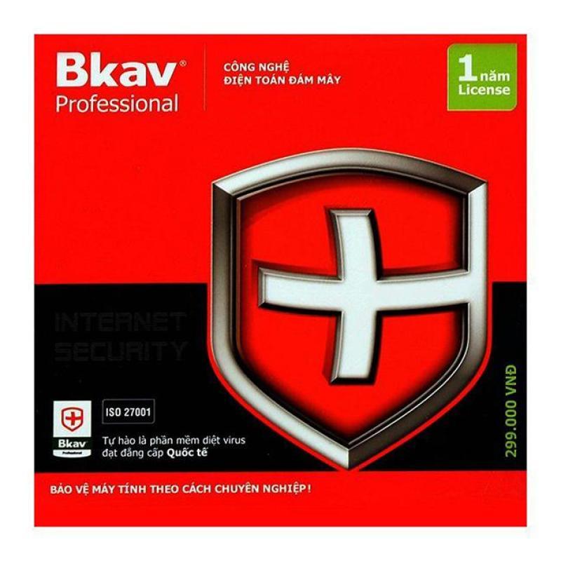 Phần mềm diệt virus BKAV PRO 1 User/1 năm