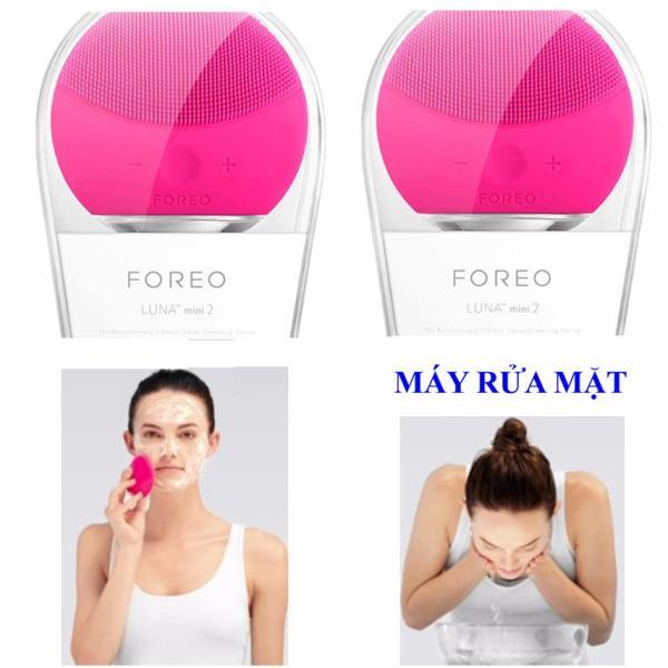 Máy rửa mặt massage da mặt FORE Luna Mini 2, Máy  rửa mặt massage da mặt FORE hiệu quả - Có một làn da mịn màng White - Giúp bạn sỡ hữu một làn da trắng hồng rạng rỡ điểm 10 giá rẻ