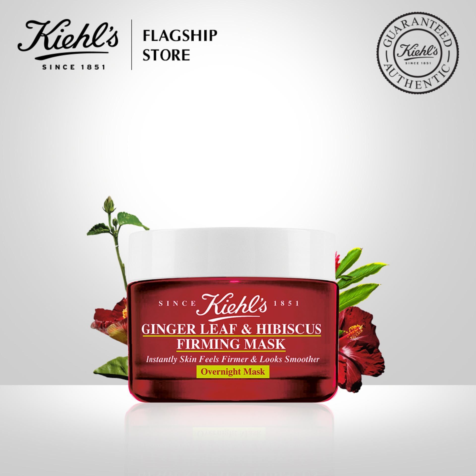 Mặt Nạ Ngủ Chống Lão Hoá Kiehls Ginger Leaf & Hibiscus Firming Mask 28ML chính hãng