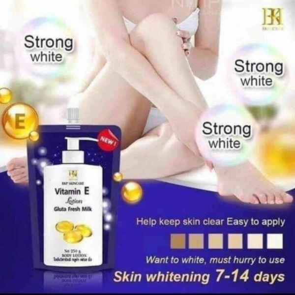 Dưỡng Trắng Da Vitamin E (túi 250ml)