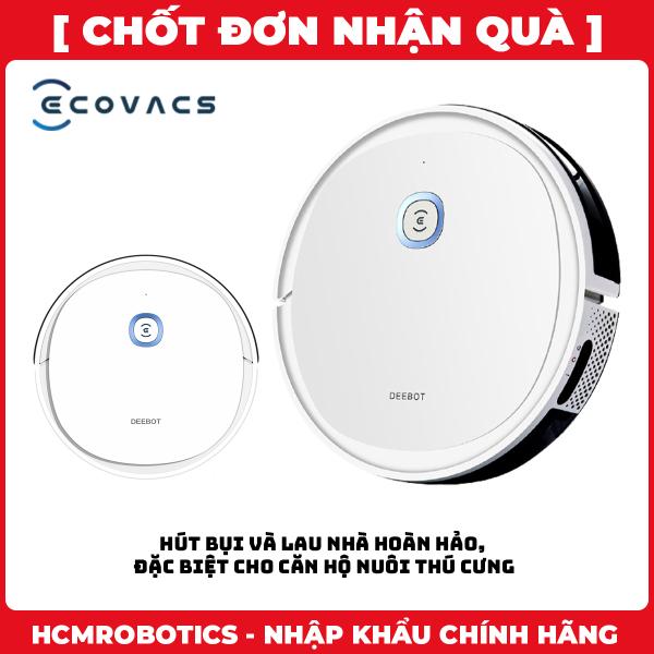 Robot hút bụi Ecovacs Deebot U2 PRO (Nâng cấp Robot hút bụi Ecovacs Deebot U2) [Bảo trì 5 năm]